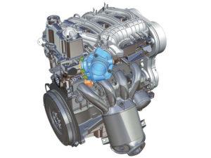 Двигатель Лада Веста фото auto4sell.ru