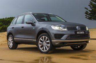 Обзор Volkswagen Touareg 2015