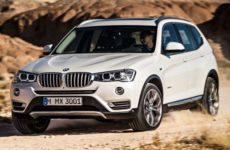 Обзор BMW X3 2015