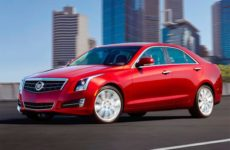 Обзор Cadillac ATS Coupe 2012