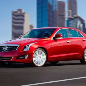 Обзор Cadillac ATS Coupe 2012