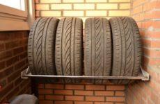 Как правильно хранить шины зимой и летом?