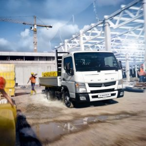 Fuso Canter – компактный и экономный грузовой автомобиль