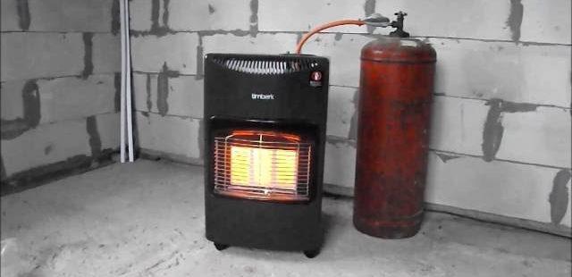 Печь Газовая для гаража