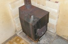 Какую печь поставить в гараж для отопления