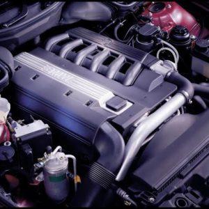 Как вымыть двигатель БМВ 525